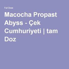 Macocha Propast Abyss - Çek Cumhuriyeti | tam Doz