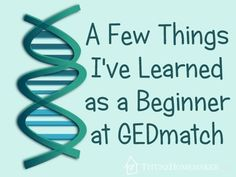 Tips for beginners to GEDmatch #t2hmkr #genealogy #dna