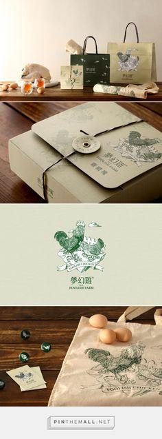 愚人農場夢幻雞 | Cizoo & Co 囍樹品牌形象、包裝、平面、網站設計顧問 curated by Packaging Diva PD. Foolish Farm natural chicken and packaging.