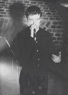 Ian Curtis - Joy Division 1980: The Basement, Cologne, Germany