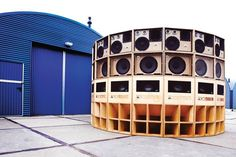 King Shiloh Sound System Dj Speakers, Dj Equipment, Speaker Design, Joy Division, Speaker System, Fundraising Events, Best Vibrators, Boombox, Loudspeaker