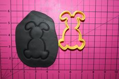 Bunny Cookie Cutter Floppy Ear Bunny Cookie Cutter | AngelCakesEtc