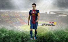 Xavi Hernandez 2012-2013 FC Barcelona HD Best Wallpapers