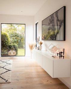 Living Room Grey, Home And Living, Living Room Decor, Modern Apartment Design, Home Interior Design, Muebles Living, Blue Home Decor, Luxury Living, Room Inspiration