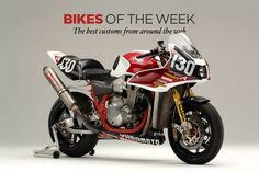 The best custom motorcycles and cafe racers of the week—including an insanely fast Honda CB1300 Super Four from Yamamoto Racing.