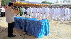 Mardani Lantik 52 Kepala Desa se-Tanah Bumbu