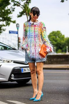 street style haute couture automne-hiver 2015: