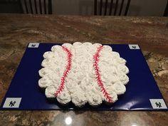 Baseball (NY Yankee) baby shower theme