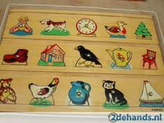 Houten puzzelplankje van de kleutertuin. 1980s Toys, Retro Toys, Vintage Games, Vintage Toys, Childhood Toys, Childhood Memories, Good Old Times, Sweet Memories, Classic Toys