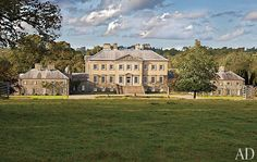Dumfries House, built by the Earl of Dumfries in 1759, restored by Prince Charles