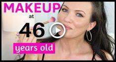 Hooded Eyes Makeup for Mature Skin City Lips, Cheek Makeup, Skin Makeup, Beauty Makeup, Foundation For Mature Skin, Hooded Eye Makeup Tutorial, Makeup Over 50, Simple Makeup Tips, Everyday Makeup Tutorials