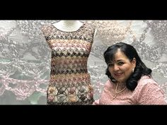Crochet Video, Diy Crochet, Crochet Top, Crochet Fashion, Baby Dress, Blouse, Youtube, Clothes, Dresses