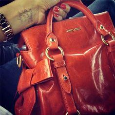 Cute bag miu miu red