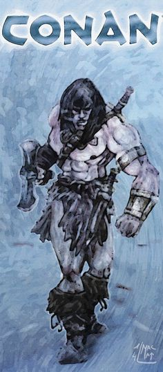 CONAN Age of painting!