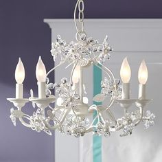 Blossom Chandelier #pbteen    4 OF THOSE FOR DINING TABLE