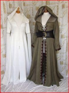 "LEGEND OF THE SEEKER KAHLAN GREEN TRAVELING DRESS   Sell one like this    LEGEND OF THE SEEKER ""KAHLAN"" GREEN TRAVELING DRESS"