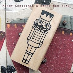 Nutcracker Suite Rubber Stamp by giftaholic on Etsy