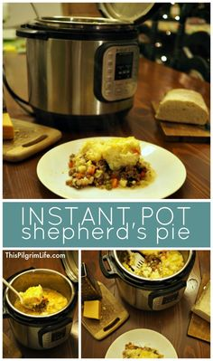 Shepherd's pie is rich and filling and so delicious! Make it in the Instant Pot and save time and dirty dishes!