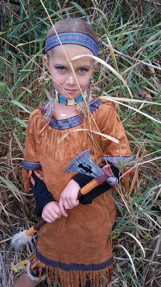 Girls Indian princess halloween costume