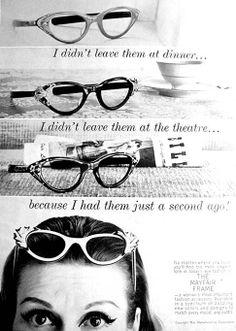 0d37c74caa 35 Best Vintage Glasses Ads images