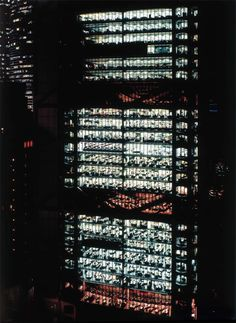 "Andreas Gursky - ""Hong Kong Shanghai Bank"", 1994, large scale photographic C-print, 86"" x 67"""