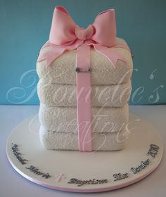 Christening or Baby Shower Cake