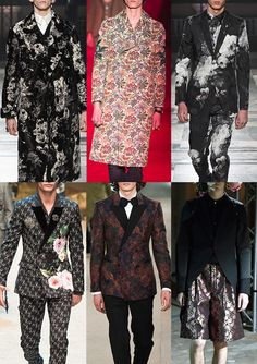 Patternbank brings you the Menswear catwalk collections for Autumn/Winter 2016/17, where the team have put together the strongest print trends together wit