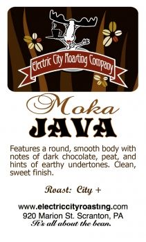 Moka Java - Electric City Roasting Company