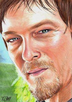 Daryl Dixon in The Walking Dead.