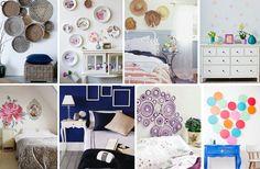 8 ideas low cost para decorar las paredes