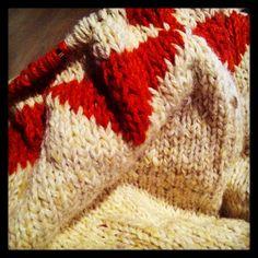 Vimpel poncho genser