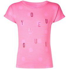 Das T-Shirt Krenek hat alles, was kleine Mädchen gefällt! Tupfen, Streifen und glänzende Details, die das Shirt zum modischen Hingucker machen. Die praktischen Druckknöpfe am Ausschnitt (bis Größe 86) erleichtern das An- und Ausziehen. erhältlich in den Größen 86 - 104 statt € 19,99 jetzt um nur € 13,99 NUR SOLANGE DER VORRAT REICHT! Short Sleeve Dresses, Dresses With Sleeves, Kind Mode, T Shirts, Pink, Products, Fashion, Stripes, Green
