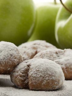 These crazy-good crescent cookies have apple in them, which makes them perfect for your sweet tooth. Serve them to your guests at the next party you host, and people will be amazed at the flavor! Applesauce Cookies, Apple Cookies, Biscotti Cookies, No Bake Cookies, Apple Muffins, Apple Recipes, Cookie Recipes, Crescent Cookies, Delicious Desserts
