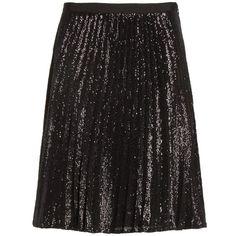 Women's Joie Jadian Metallic Pleat Skirt (480 PEN) ❤ liked on Polyvore featuring skirts, knee length pleated skirt, going out skirts, joie, joie skirt and party skirts
