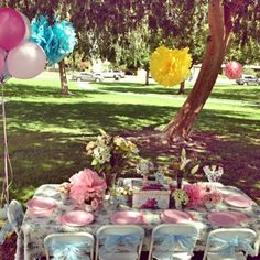 Every little girl loves a tutu birthday party. #birthday #party