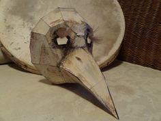 Paper Mache Mask, Paper Mache Sculpture, Paper Mask, Halloween Projects, Halloween Masks, Halloween Diy, Diy Crafts Jewelry, Diy Arts And Crafts, Plague Doctor Mask