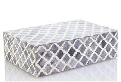 Large Bone Inlay Box, Caldwell on OneKingsLane.com