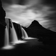 Moody Black and White Photos of Iceland