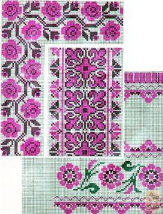 Cross Stitch Love, Cross Stitch Borders, Cross Stitch Charts, Cross Stitching, Cross Stitch Embroidery, Cross Stitch Patterns, Needlepoint Patterns, Embroidery Patterns Free, Towel Embroidery