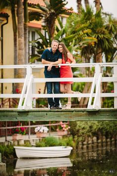 Jamie & Jason – Venice Canals Engagements, Engagement Session, Venice Canals, Los Angeles Wedding Photographer, Engagement