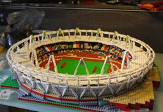 warren elsmore: 2012 olympic stadiums built with LEGO.