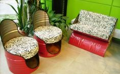 Repurposed Garden Decor | ... Garden Decorations, 20 Recycling Ideas for Backyard Decorating