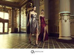 """Delicate textures and intriguing cuts, femininity and sensuality dominate the new CRISTALLINI Spring/Summer 2015 Collection, entitled """"Angel or Demon""""!  #cristallini #springsummer #newcollection #angelordemon #luxury #fashion #style #eveningstyle #eveningdresses #craftsmanship #handcrafted #gowns #cocktaildresses #glamour #elegance #sequins #beauty #luxurystyle #luxurydresses #highfashion #instastyle #instafashion #bestoftheday #romaniandesigner"""