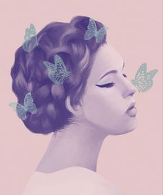 Lovely colours! Enjoy the amazing fashion illustrations by the Costa Rica based artist Paola Wiciak.