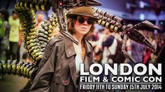 London Film & Comic Con (LFCC) 2014  Cosplay Music Video from YouTube/Sneaky Zebra
