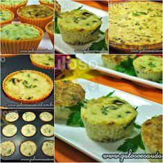 Olha que delicia para o #almoço! Esta Quiche de Bacalhau Sem Farinha, huumm, é apetitosa, fácil de fazer e é #SemGluten! #Receita aqui: http://www.gulosoesaudavel.com.br/2013/01/15/quiche-bacalhau-farinha/