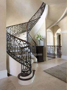 Trên cơ sở nắm bắt nhu cầu của khách hàng cùng xu hướng mới của nghệ thuật kiến trúc xây dựng, chúng tôi luôn cố gắng thiết kế và thi công những mẫu lan can cầu thang sắt đẹp, tinh mỹ nhất cho mọi công trình.