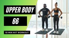 Upper Body Hiit Workouts, Upper Body Circuit, Fitness Workout For Women, Fitness Goals, Mr Muscle, Workout Calendar, Body Training, Different Exercises, Workout Exercises