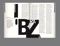editorial design,  magazine design, typography