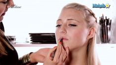 BLONDES: Find out which lipstick shades work best for your hair color and skin tone. #lipstick #blonde #makeup #beauty